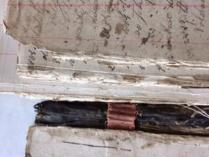 Journaalboek Wagemakers voor restauratie